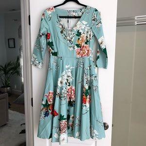 Chicwish Blue Dress
